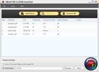 Xilisoft Convertidor de PDF a EPUB